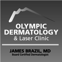 Olympic Dermatology black square logo